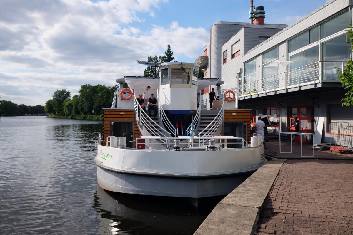 Schiff VW Kaffee Catering